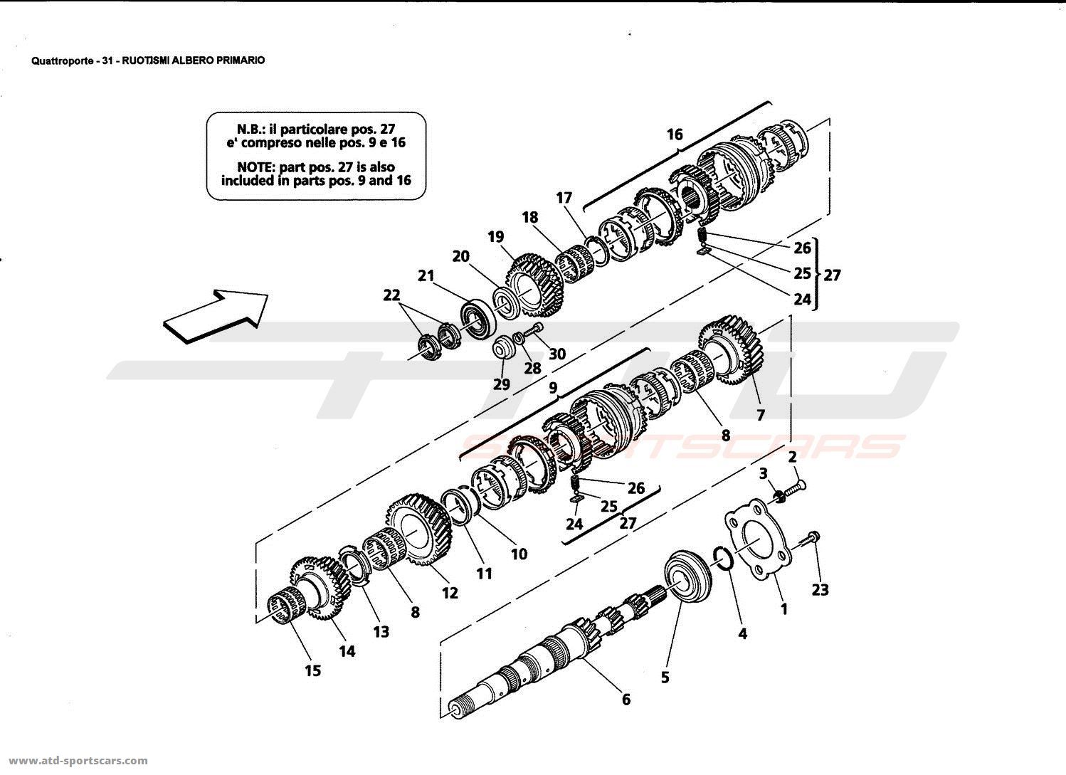 89 Mustang Steering Shaft