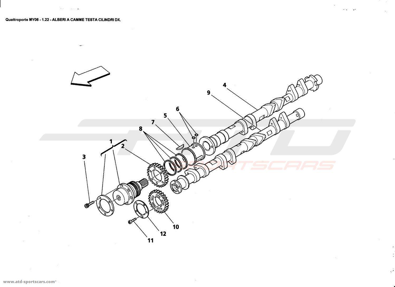 Maserati Quattroporte 4 2l Boite F1 Engine Parts At Atd Sportscars