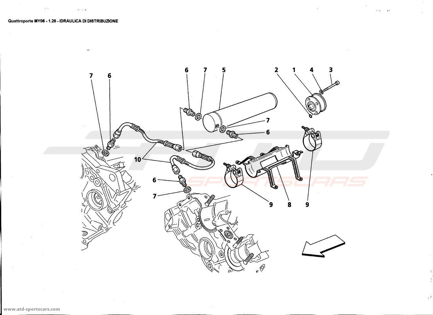 Service manual [2009 Maserati Granturismo Timing Chain