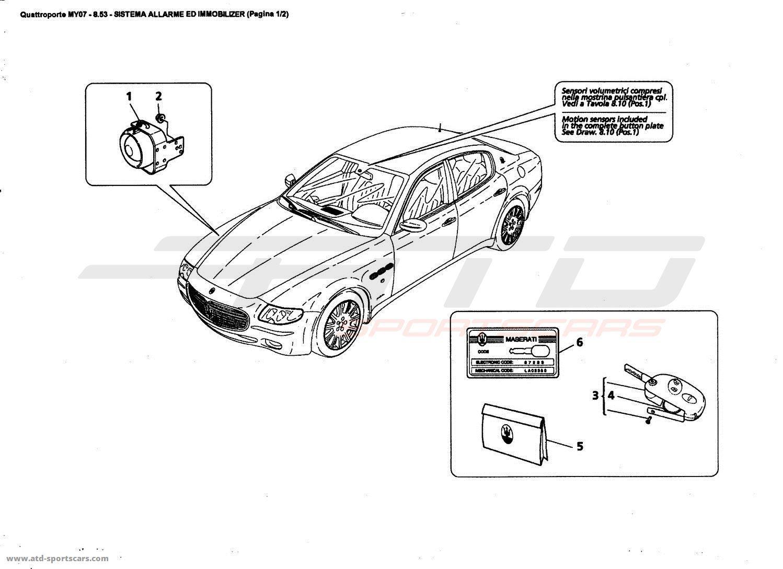 Maserati Quattroporte 4 2l Boite F1 Electrical Parts At Atd Sportscars