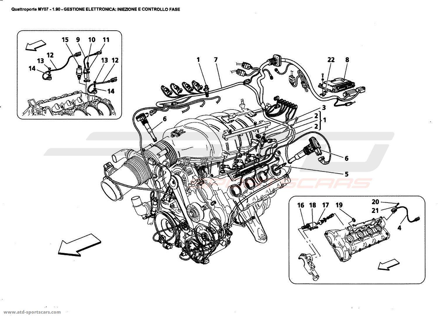 Maserati Quattroporte Engine Diagram Auto Electrical Wiring