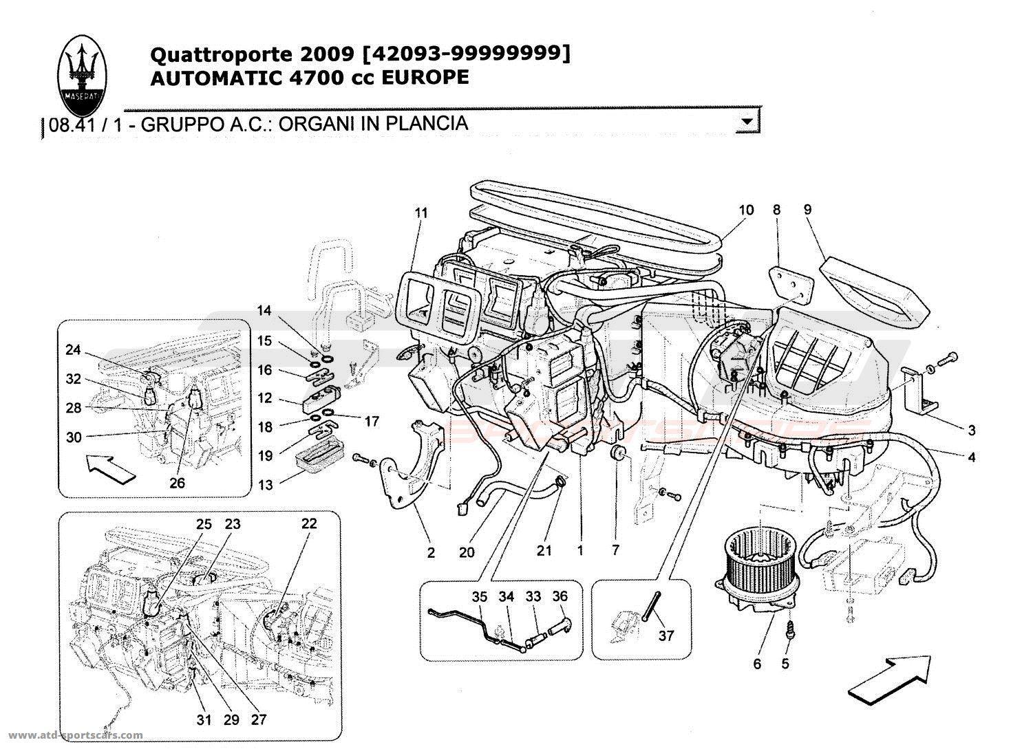 Maserati Quattroporte 4 7l Boite Auto Cooling