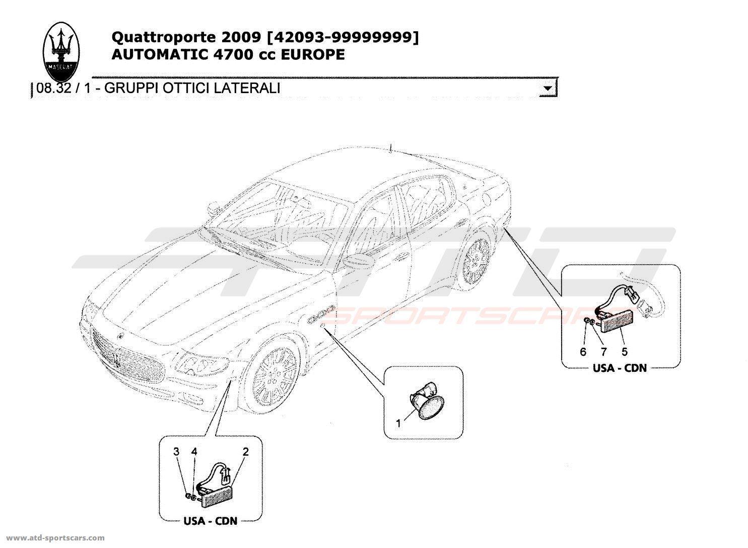 Maserati Quattroporte 4 7l Boite Auto Glasses