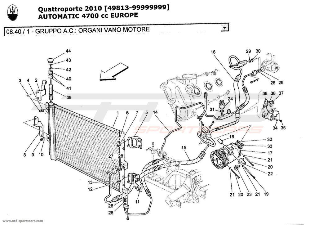 medium resolution of maserati quattroporte engine diagram just wiring diagram maserati quattroporte 4 7l boite auto 2010 a c