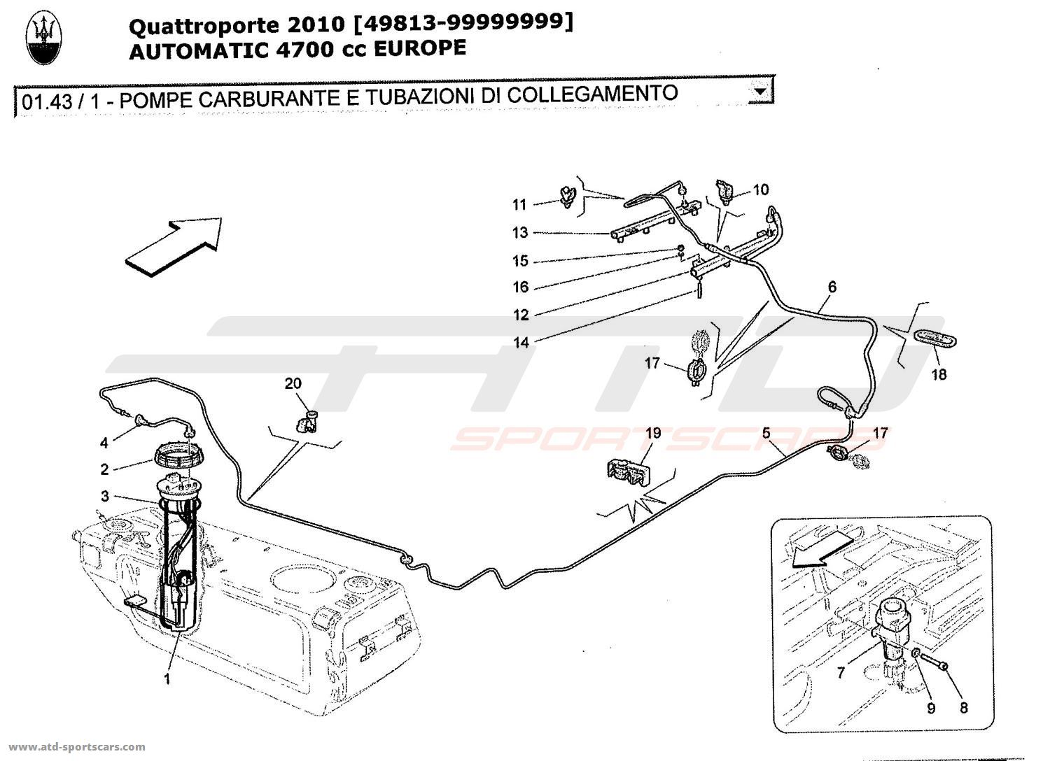 Service manual [2010 Maserati Quattroporte Secondary Air