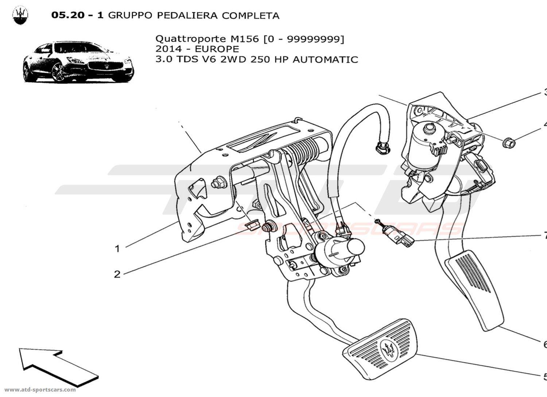 Maserati Quattroporte V6 3.0L Diesel Auto 2014 COMPLETE