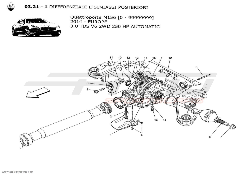 Maserati Quattroporte V6 3.0L Diesel Auto 2014