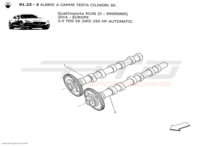 Maserati Quattroporte V6 3 0lsel Auto Engine