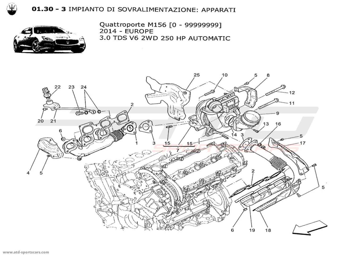 [2007 Maserati Quattroporte Timing Chain Repair Manual