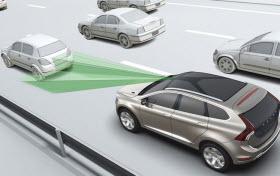 Volvo Autonomous Emergency Braking. Photo by Volvo.