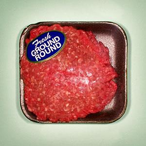 Packaged ground beef (© Frank Bean/Uppercut RF/Getty Images)