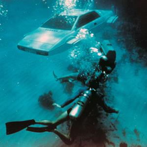 James Bond's Lotus Esprit submarine car in 'The Spy Who Loved Me' (© Everett Collection/Rex Features)
