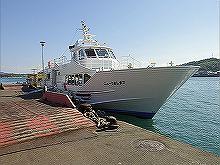 大きな船舶が停泊するところも落し込み釣りに最適