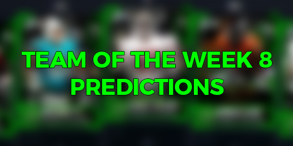 Team Of The Week 8 Predictions News Muthead