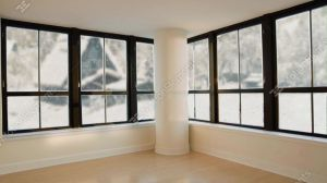 Seamless Loopable Background Of Modern Living Room Outside The Windows There Is 영상 소스 11002788