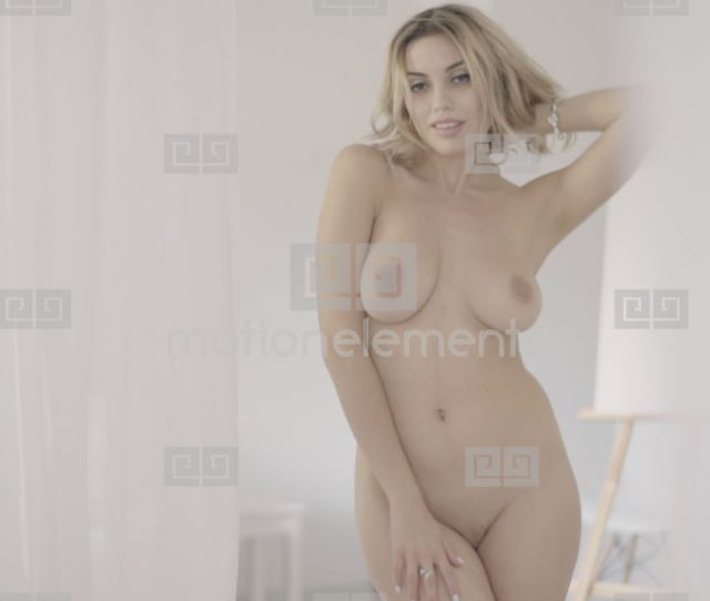 Sexy Naked Woman Girl Prores  Hq Stock Video