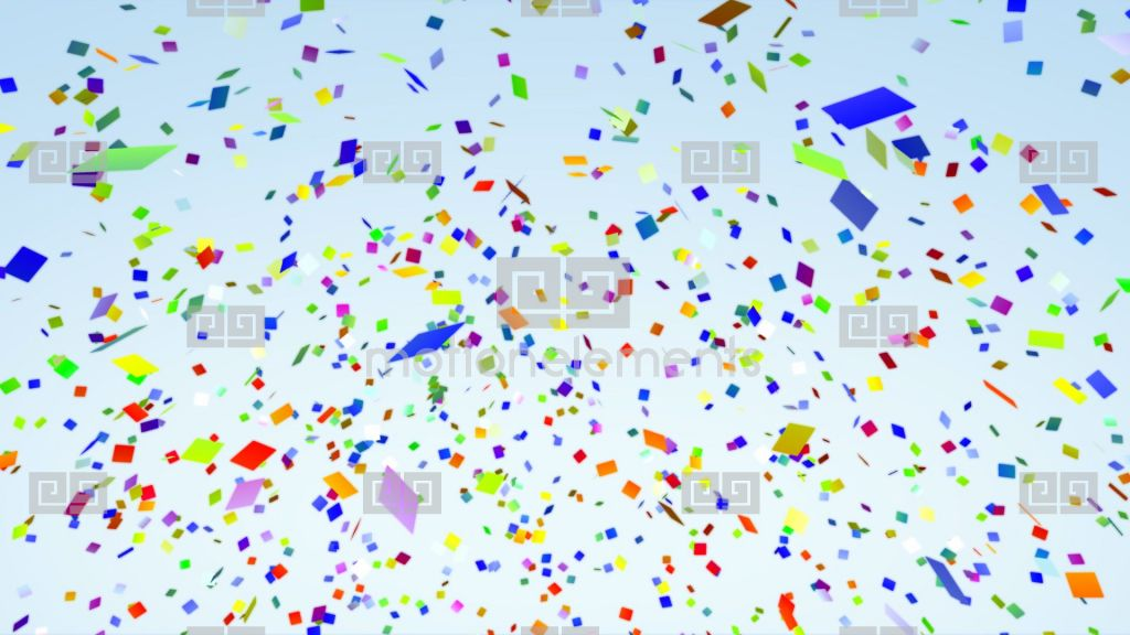 Color Paper Confetti Falling Alpha Stock Animation  RoyaltyFree Stock Animation Library  543127