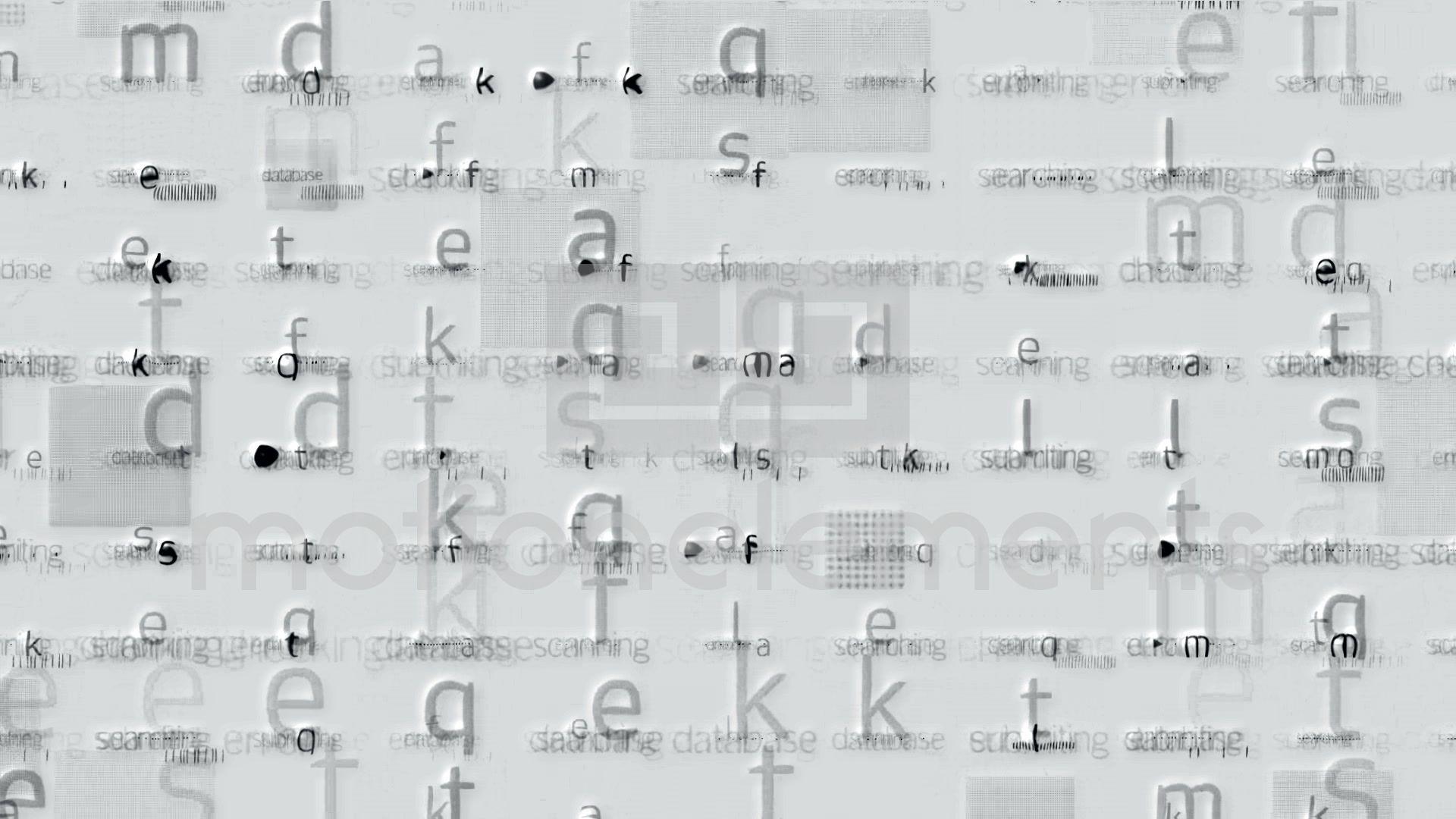 Letter Matrix Background Alphabet Computer Screen Tech