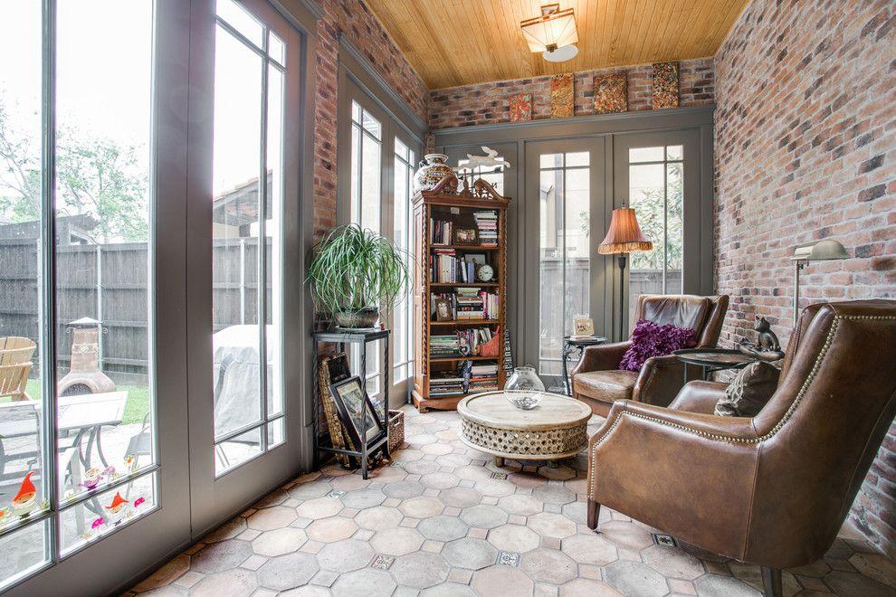 sunroom tile floor designs