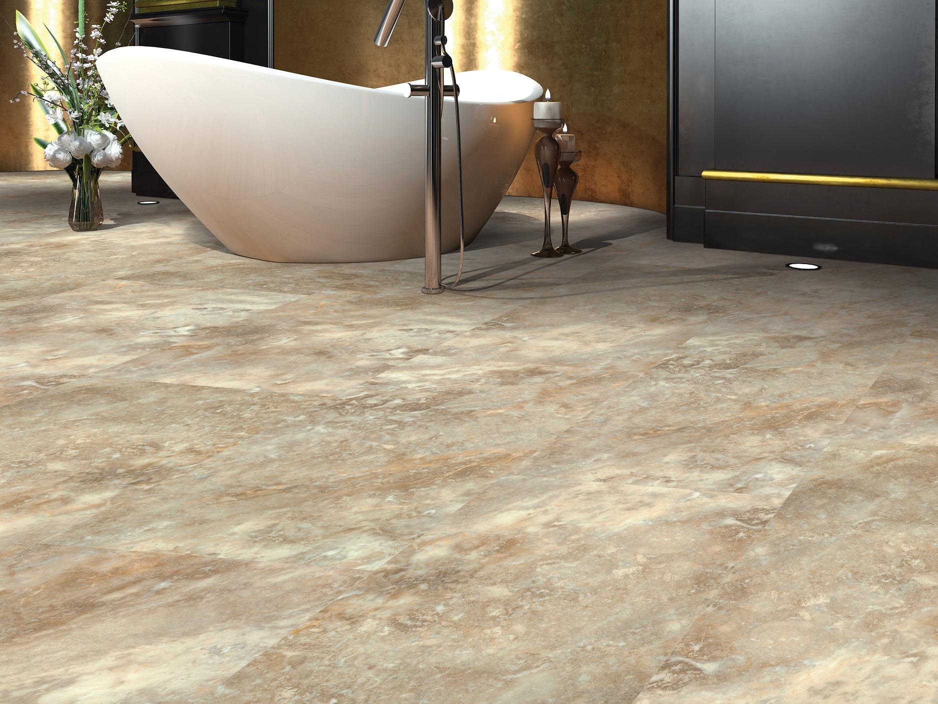 can luxury vinyl flooring look like tile