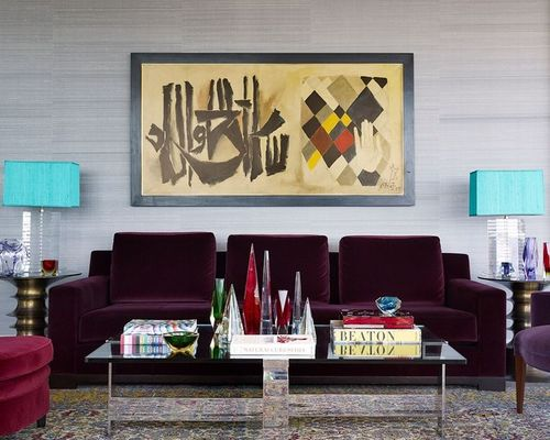 small living room sofa color black sofas decorating ideas energize your with one of these 5 bold colors 1 douglas graneto design