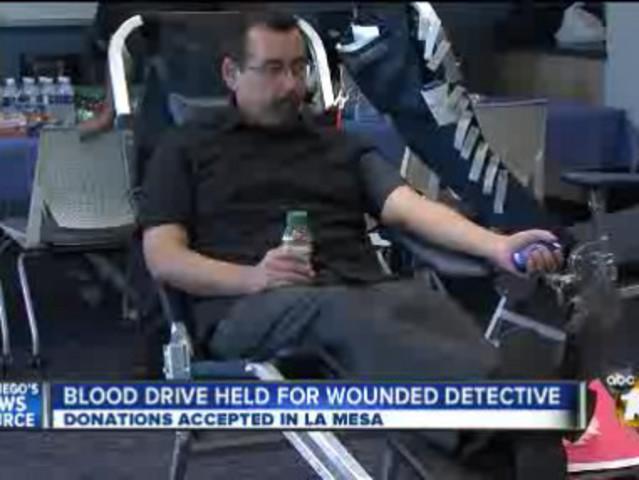 Blood Drives Held For Injured Deputies  10newscom Kgtv