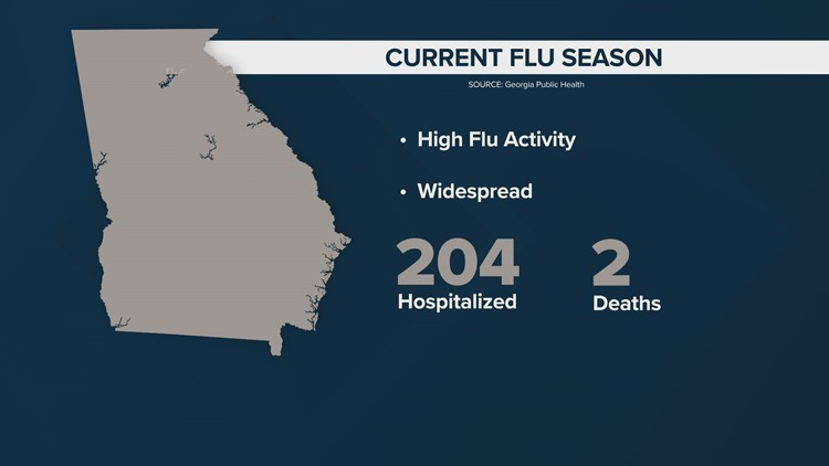 Second flu-related death in Georgia confirmed by the state ...