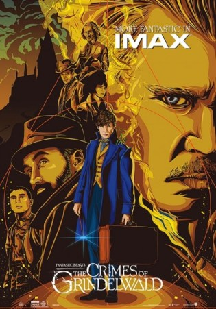 FANTASTIC BEASTS: THE CRIMES OF GRINDELWALD (IMAX 3D)