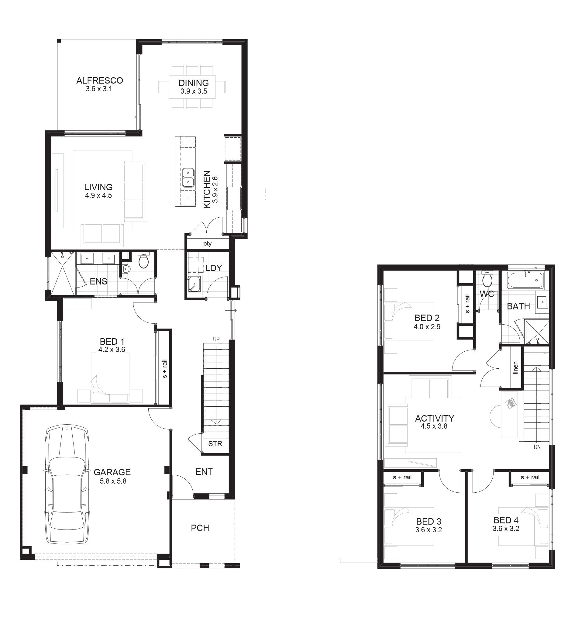 Small 4 Bedroom House Plans Australia