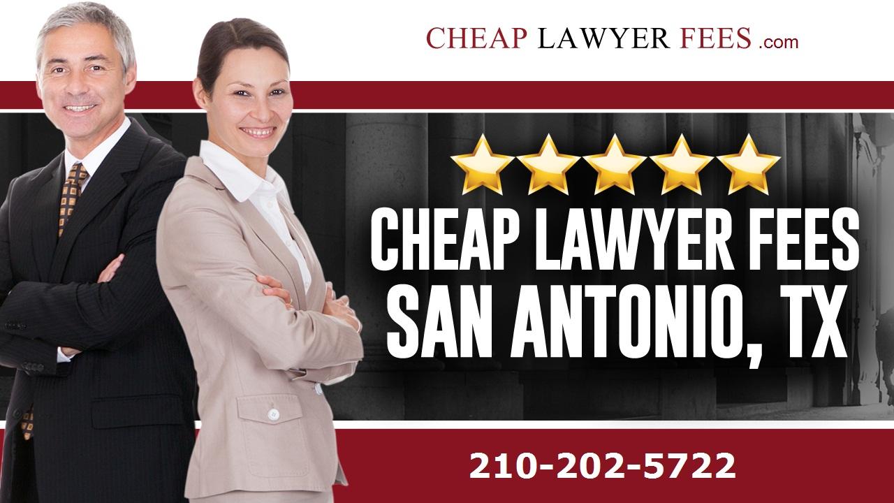 Cheap Divorce Lawyer Fees  Phone 2102025722  San