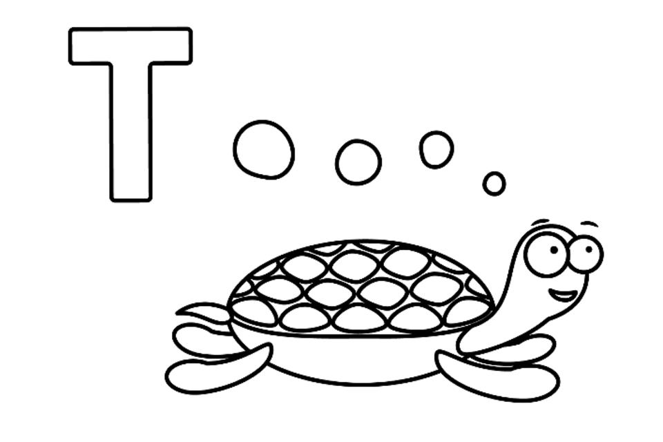 Alphabet Coloring Pages: Fun Printable Animal-Themed