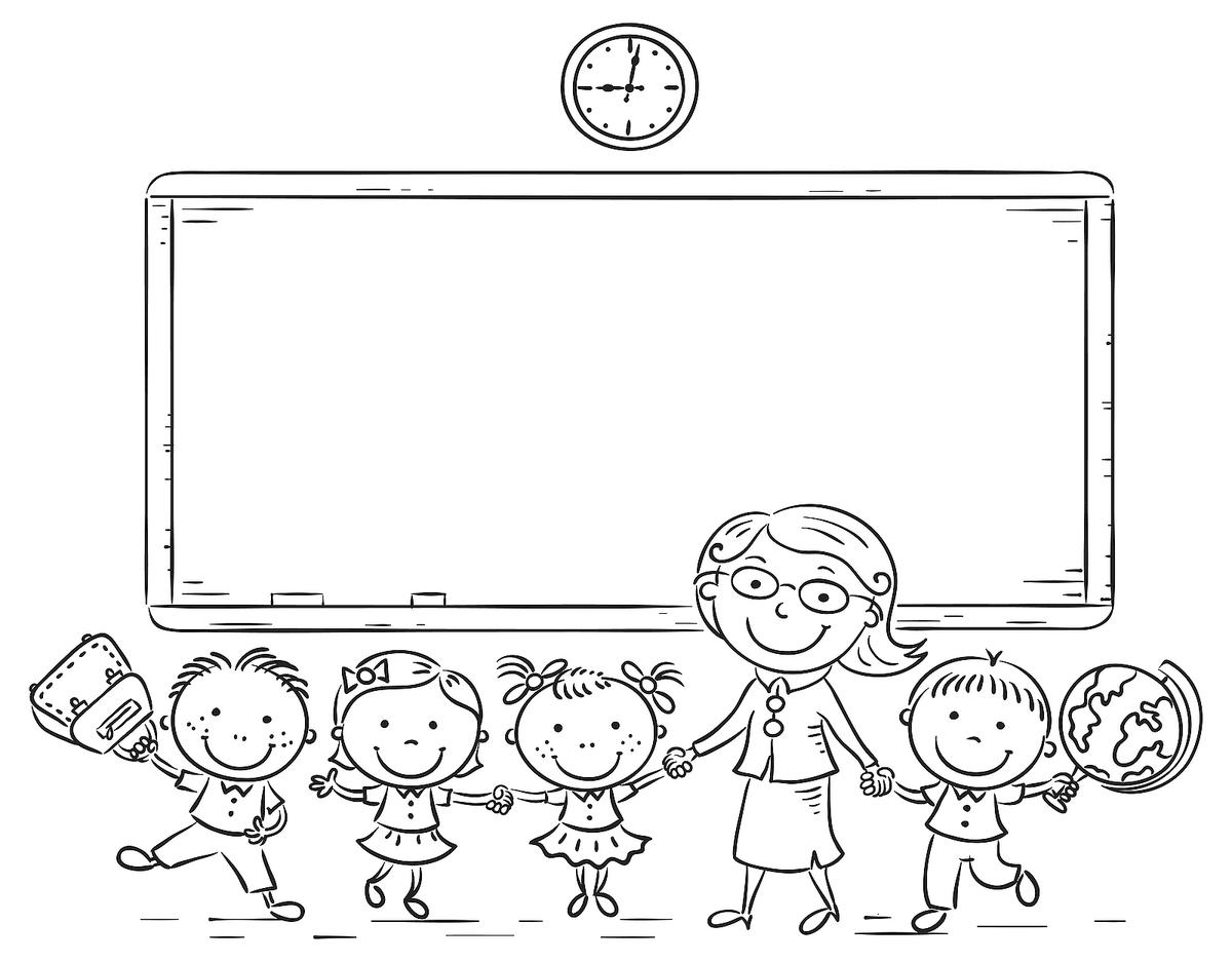 Back To School Coloring Pages Fun School Themed Printables For Kids