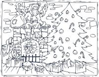 Christmas Coloring Pages: 16 Printable Coloring Pages for ...