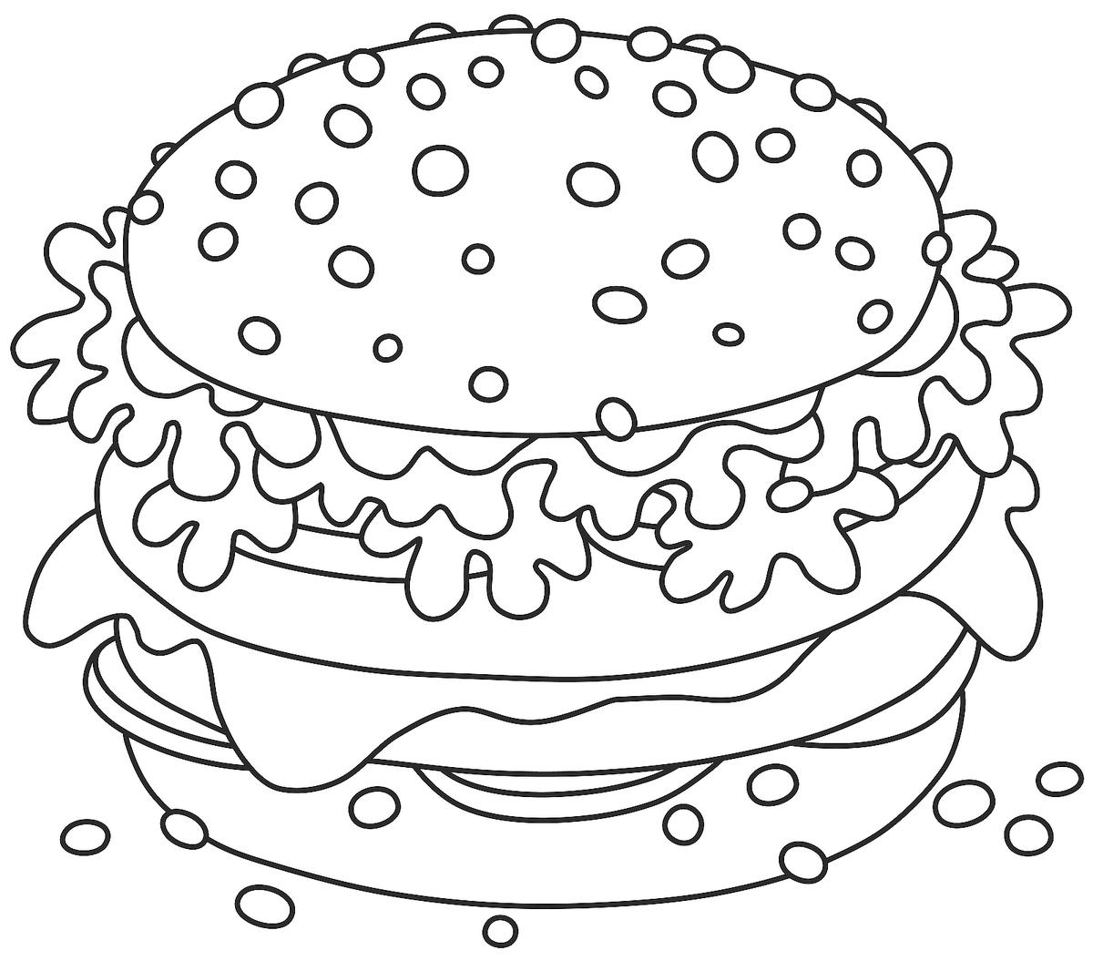 Food Coloring Pages 20 Free Printable Coloring Pages Of