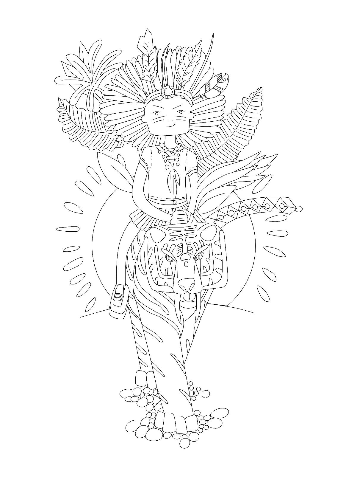 Strong Women Coloring Pages: 10 Printable Coloring Pages