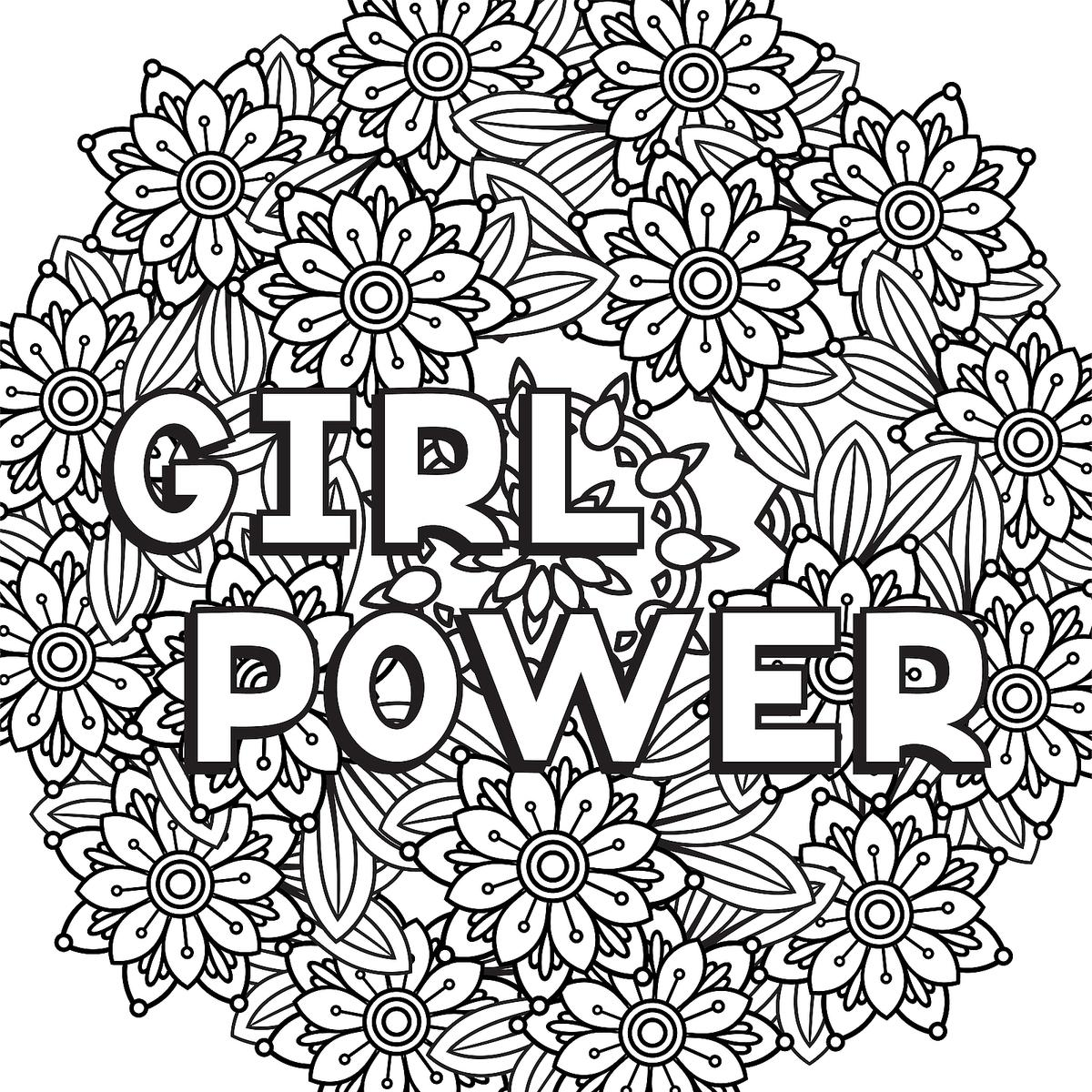 Strong Women Coloring Pages 10 Printable Coloring Pages