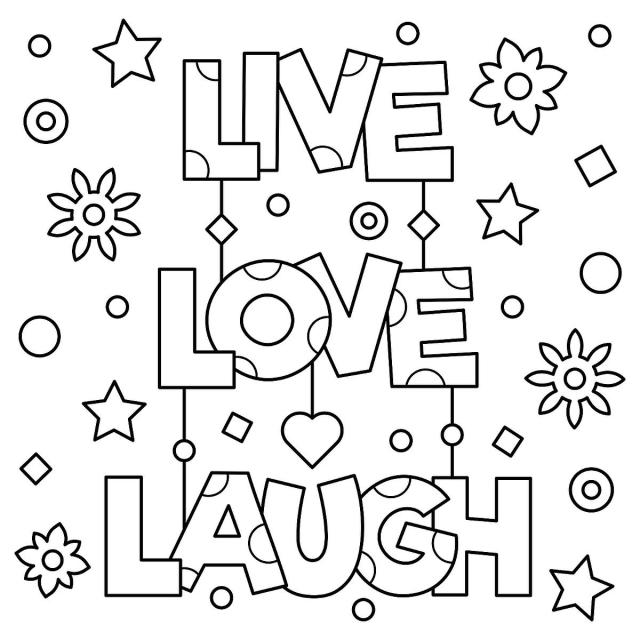 Inspirational Coloring Pages: Free Printable Coloring Pages to