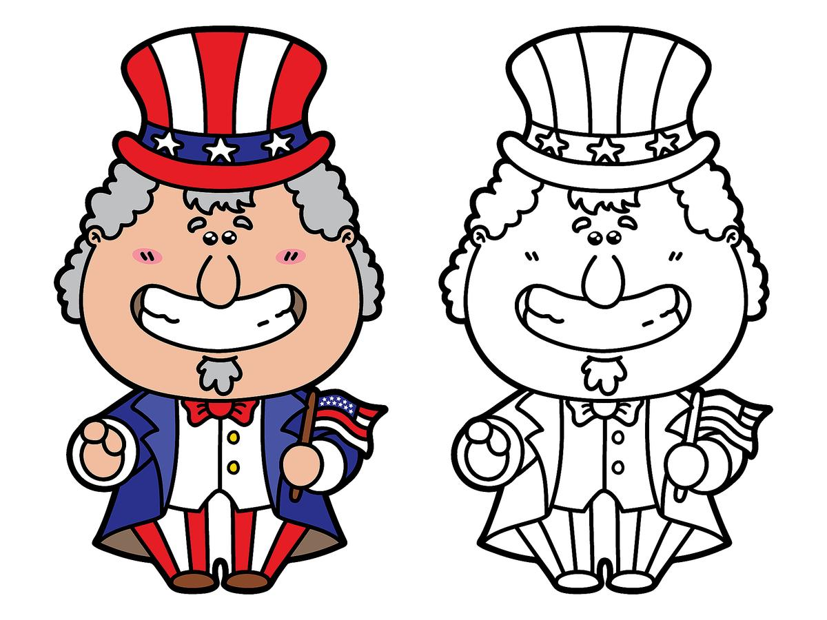 July 4th Coloring Pages 10 Fun Amp Free Printable Fourth Of