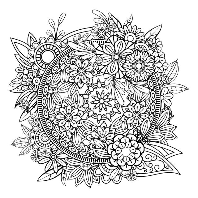 Mandala Coloring Pages: Free Printable Coloring Pages of Mandalas