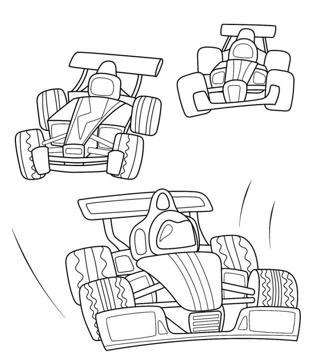 Moving Vehicle Coloring Pages: 30 Fun Cars, Trucks, Trains (and