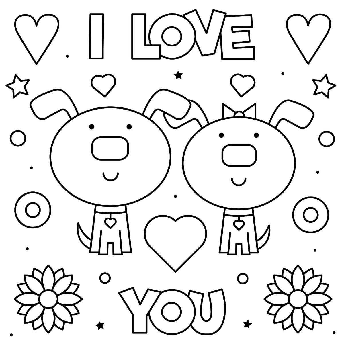 Valentine S Day Coloring Pages Heart Love Themed Coloring Pages For Kids Adults Printables 30seconds Mom