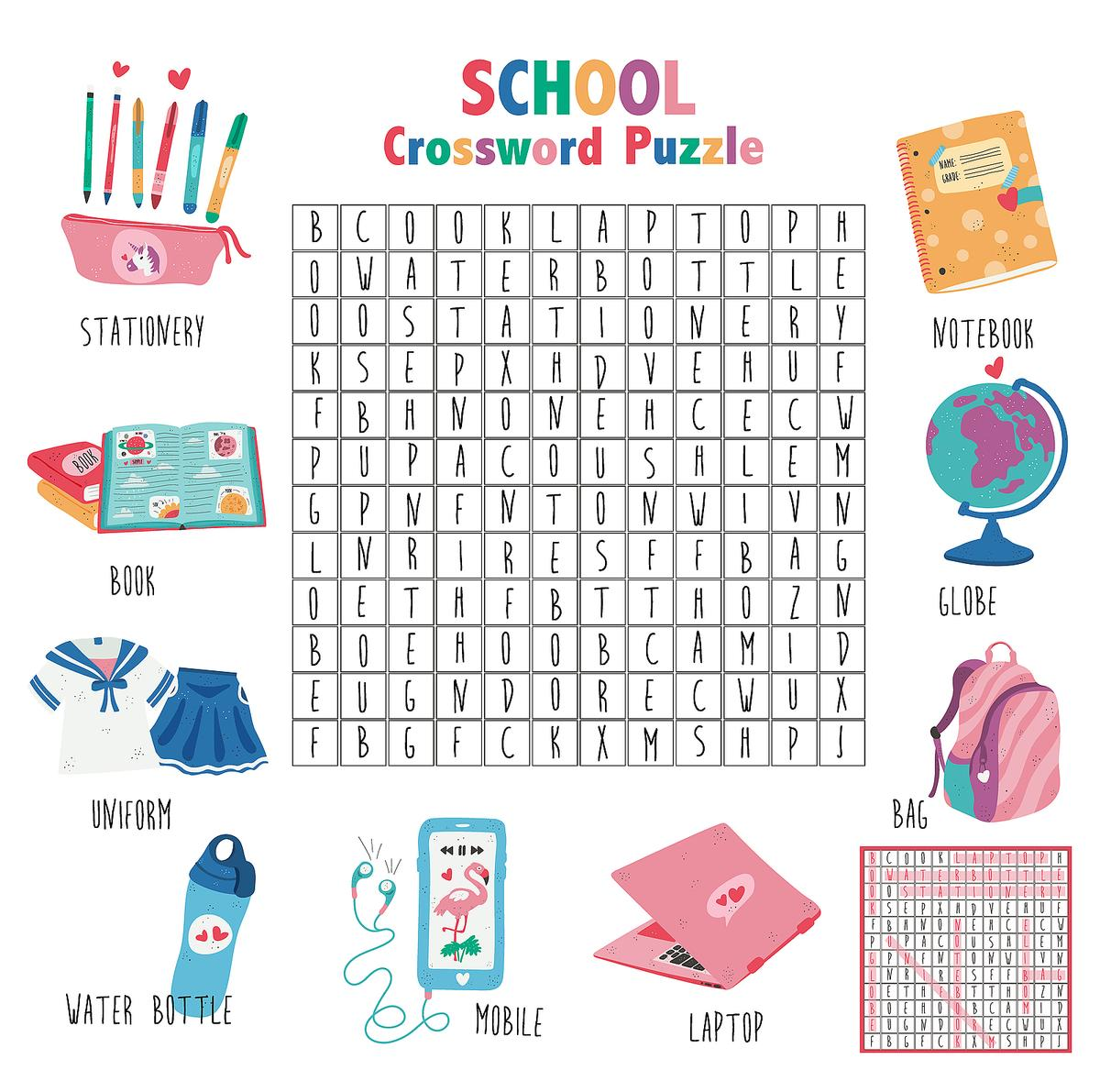Printable Word Search Puzzles For Kids 10 Activities That