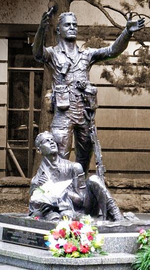Vietnam Memorial, Brisbane on 365 Project