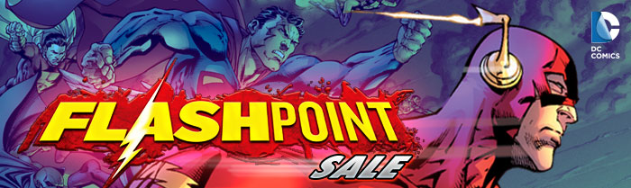 DC COMICS - FLASHPOINT SALE
