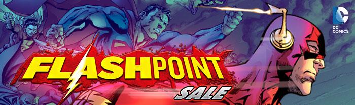 DC COMICS - FLASHPOINT SALE