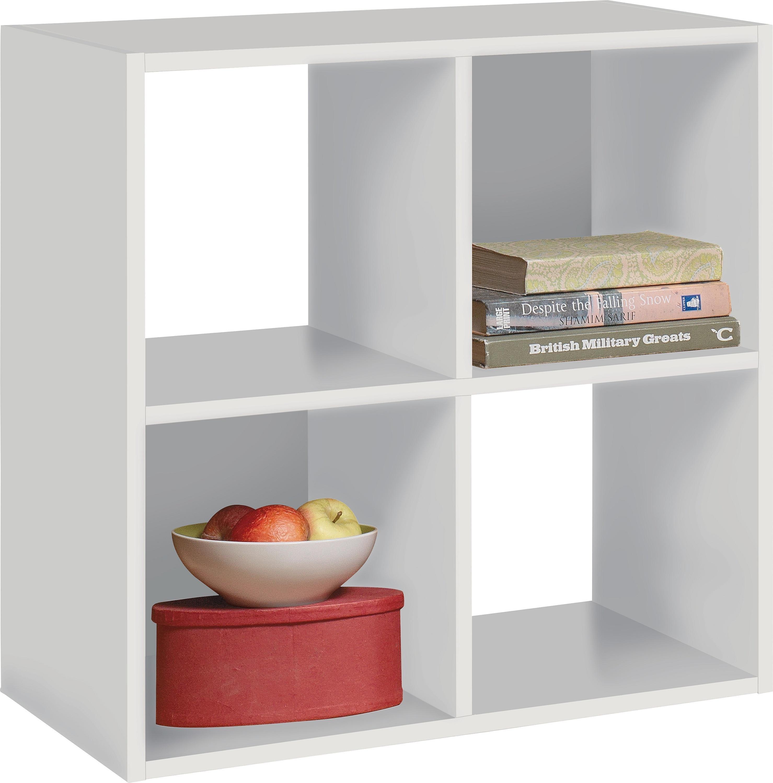 Buy Home Squares 4 Cube Storage Unit White At Argosco