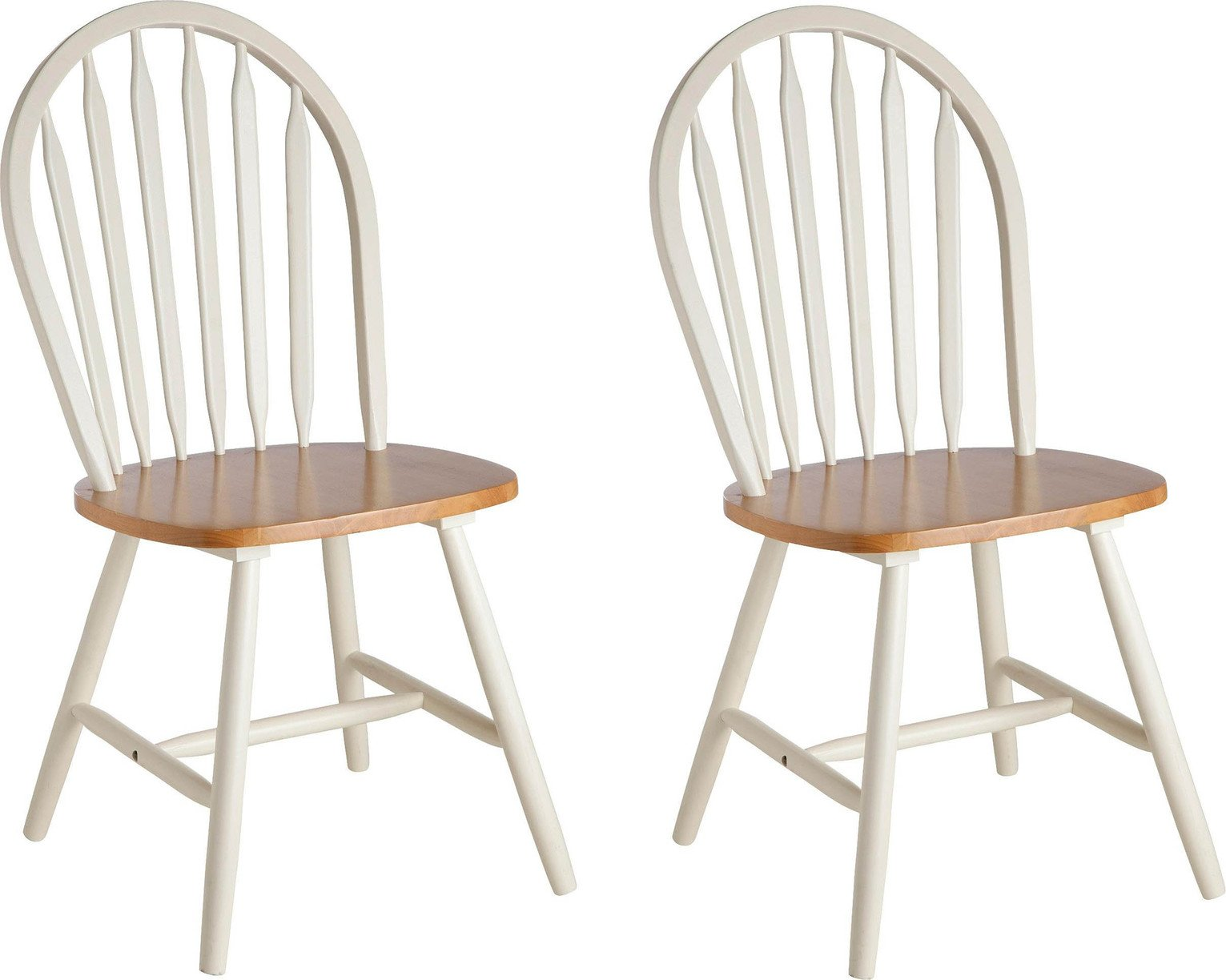 wooden kitchen chairs argos nhs posture chair home kentucky pair of solid wood two tone