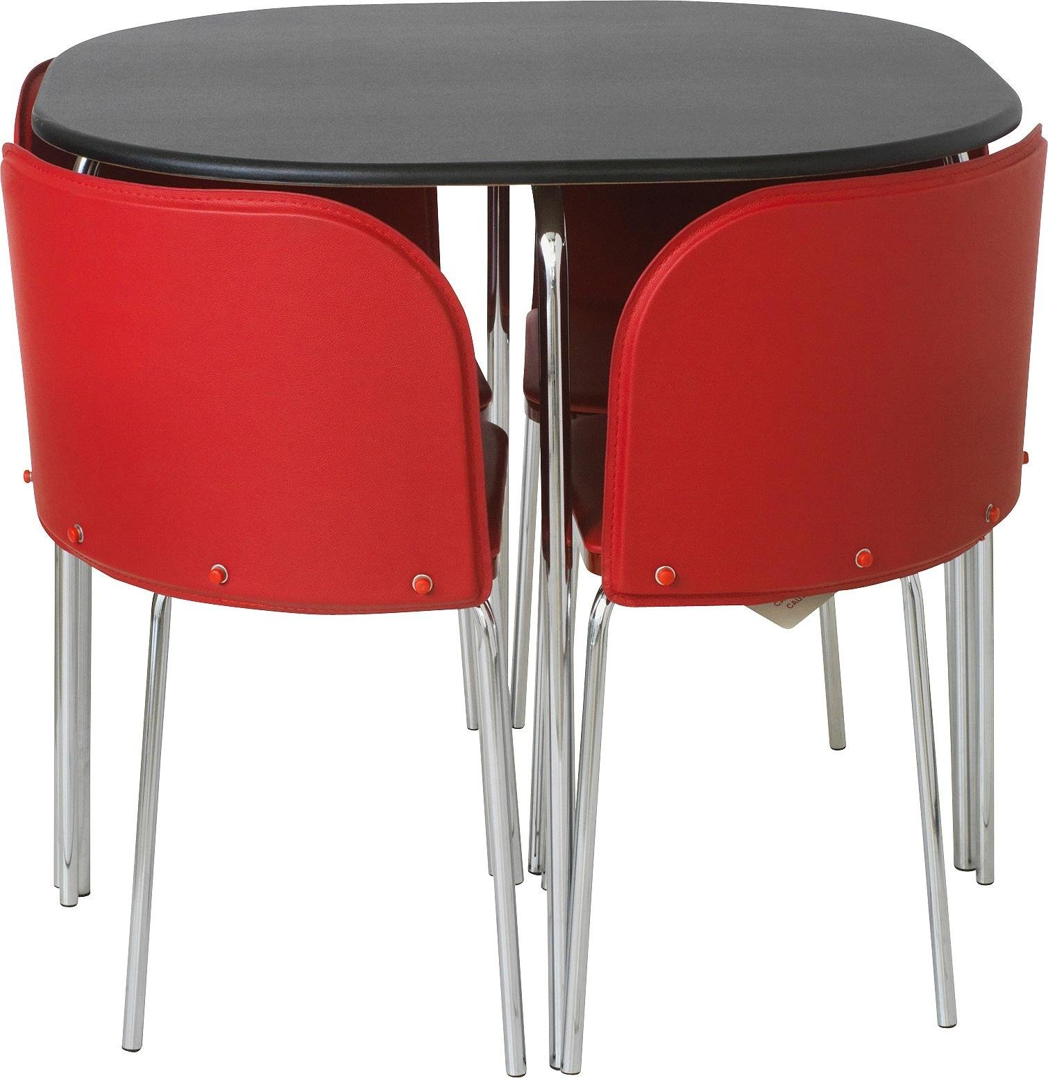 pads under chair legs hello kitty spa pedicure hygena amparo black dining table and 4 chairs red 139
