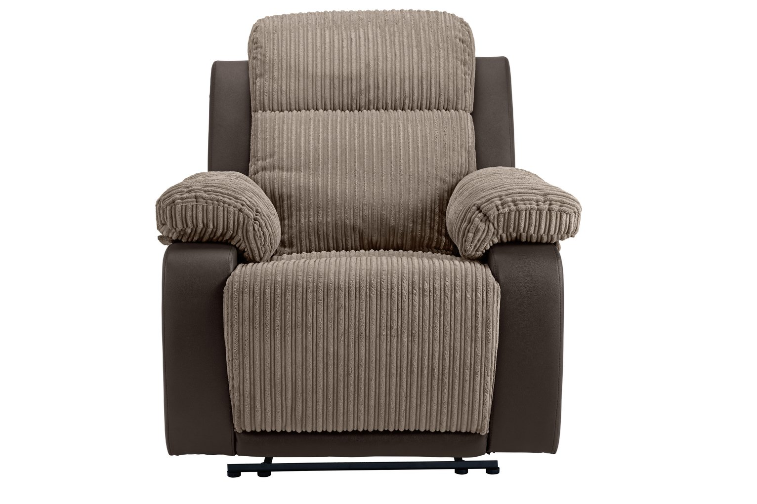 recliner chairs cheap hanging chair the sims 4 buy argos home bradley fabric manual natural