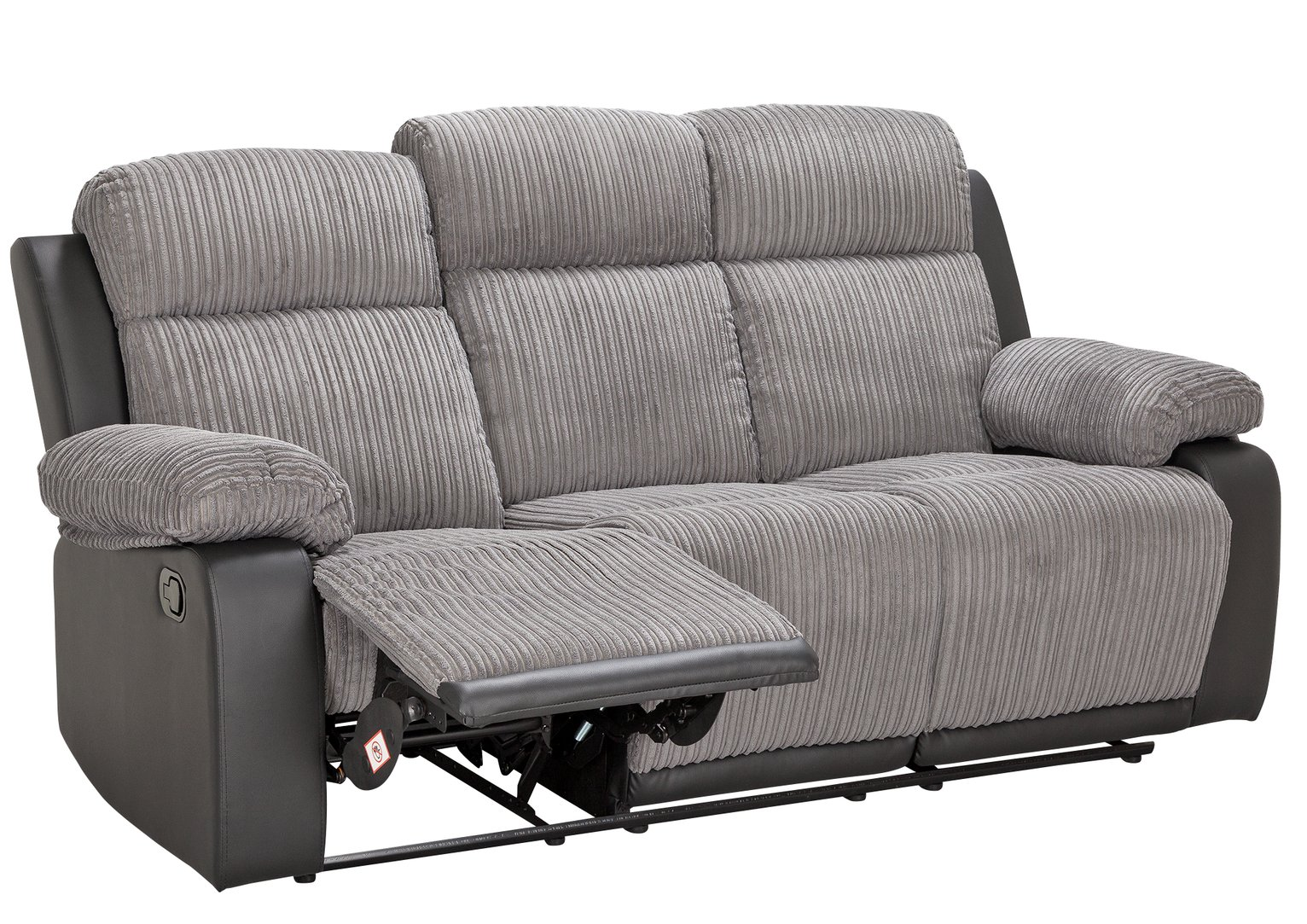 argos recliner sofa office set online gloucester manual suede 2 seater reclining charcoal